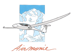 Airmonie, your glider destination - votre destination vol à voile.